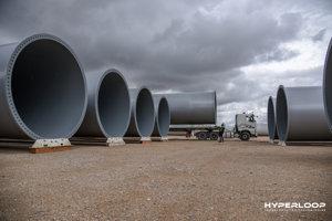 Prvá časť trate hyperloop v Toulouse bude dlhá 320 metrov.