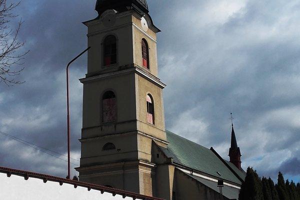 Kostol sv. Jána Krstiteľa vSpišských Vlachoch.