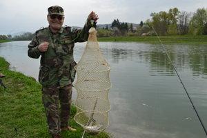 Jozef Barat k úlovku pridal aj rybársky vtip.