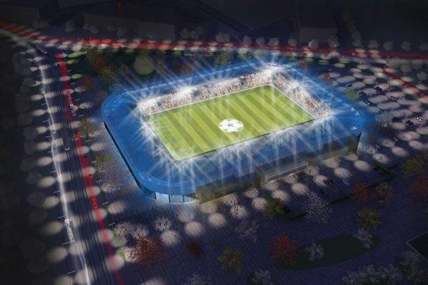 Takto by mala vyzerať Košická futbalová aréna.