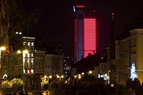 Do červena sa odeje aj Europa