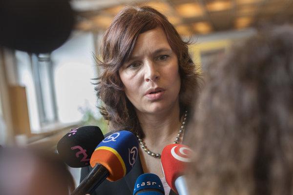 Remišová: Škandály s eurofondmi môžu spôsobiť, že ich dostaneme menej