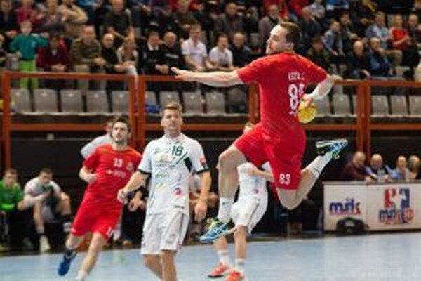 Jozef Kozák (v červenom) v Prešove nehral.