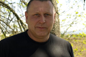 Pyrotechnik Pavol Mokráš.