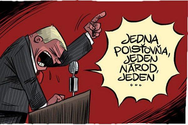 Karikatúra.