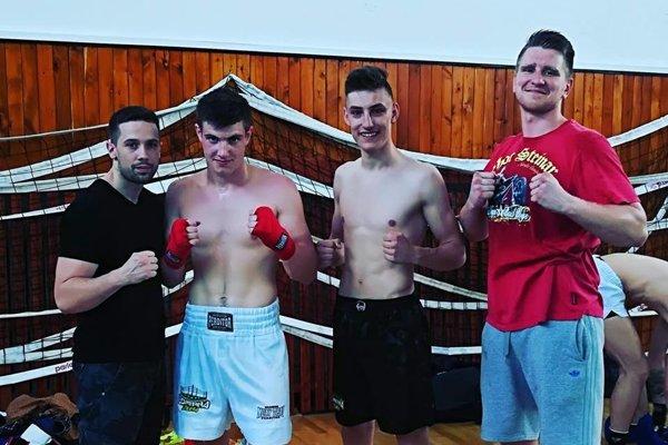 Zľava: Matej Štubňa, Ján Urbaník, Kristián Korchan aMiroslav Cingel.