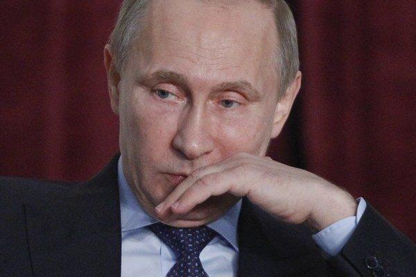 Ruský prezident Putin.