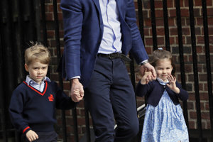 Princ William s deťmi.
