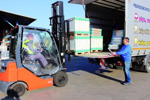 Doprava tovaru priamo k zákazníkovi.