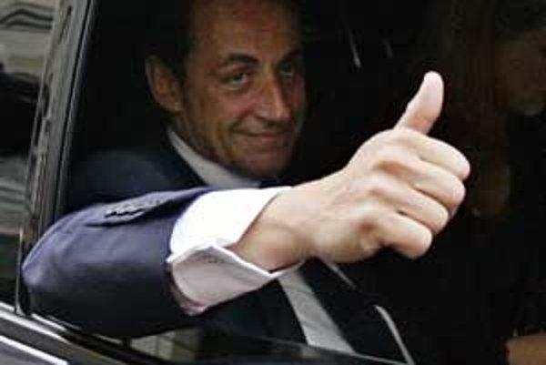 Prezident Nicolas Sarkozy.