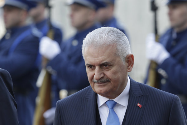 Turecký premiér Binali Yildirim.