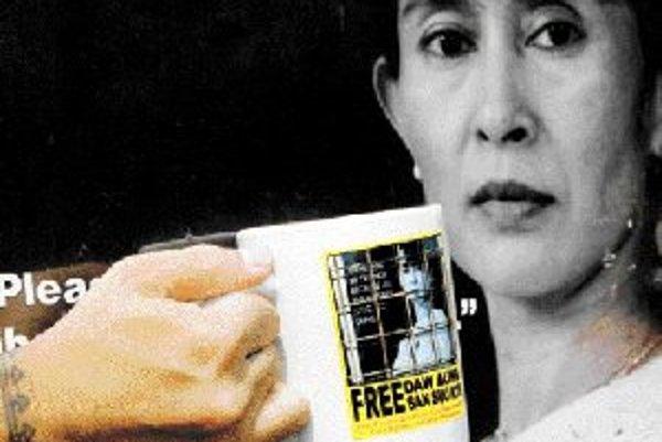 Symbol slobody v Barme, Aun Schang Su Ťij.