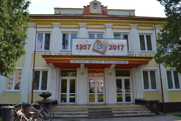 Základná umelecká škola na Mierovej ulici.