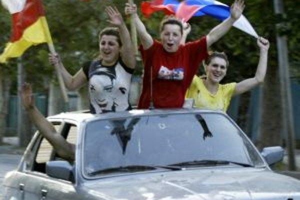 Oslavy v Južnom Osetsku.