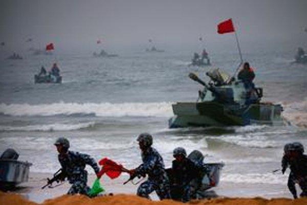 Čína chce získať dominantné postavenie v Pacifiku.