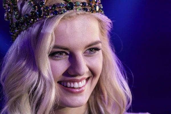 Dominika Grecová z Humenného - Miss Slovensko 2018.