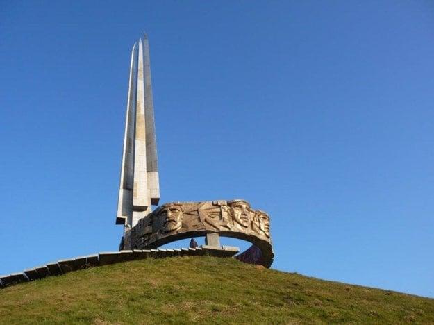 Kurgan slávy, pamätník neďaleko Minska.