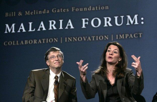 Nadácia Billa a Melindy Gatesovcov rozdeľuje peniaze na univerzitné štipendiá pre zástupcov menšín, prevenciu AIDS, boj s chorobami, ktoré ohrozujú hlavne krajiny tretieho sveta. FOTO – SITA/AP