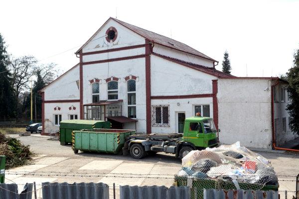 Zberný dvor Technických služieb mesta Prešov na Bajkalskej ulici.