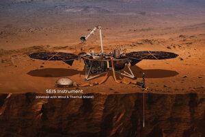 Nástroj SEIS bude merať seizmickú aktivitu Marsu ale aj to, ako často na povrch planéty dopadajú meteority.