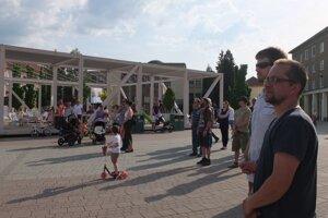 V Žiari sa zišli len desiatky ľudí.