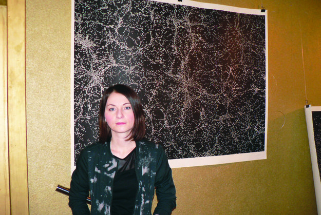 Andrea Jančovičová a jej práca Exit.