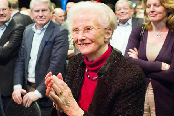 Zavraždená holandská exministerka zdravotníctva Els Borstová.