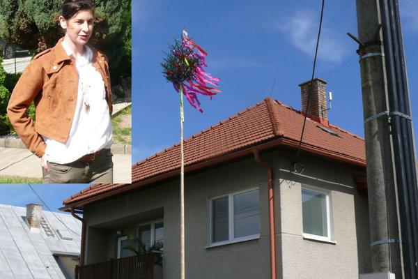 Aničke Jiříčkovej postavil máj jej milý rovno pod oknami.