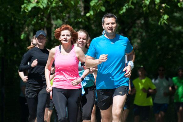 Aj v Žiline bežali za tých, ktorí bežať nemôžu.