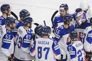 Slovenskí hokejisti zdolali Rakúsko.