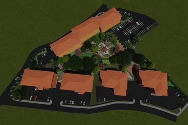 Vizualizácia projektu revitalizácie parku.