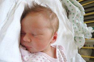 Eva Brunová (3740 g, 52 cm) sa narodila 28. apríla Zuzane a Miroslavovi z Trenčína. Doma už majú 2,5 ročného Juraja.