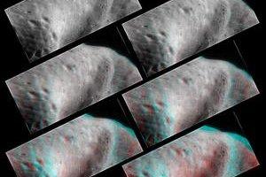 Americká sonda skúmala asteroid zblízka.
