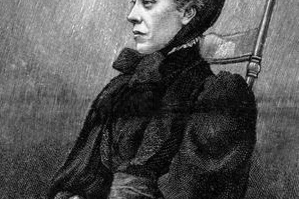Viktoriánska cestovateľa Mary Kingsleyová.