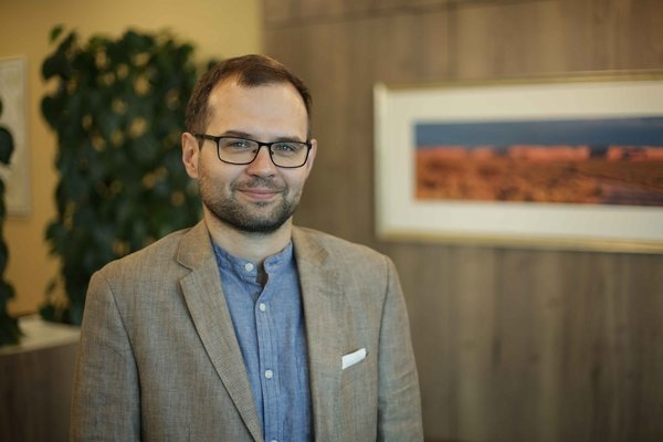 Kacper Rekawek, analytik Globsec Policy Institute