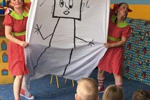 Spišskonovoveské Divadlo na predmestí prišlo potešiť deti.
