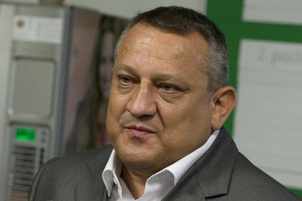 Košický poslanec Národnej rady SR Eduard Adamčík.