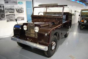 Land Rover State IV z roku 1953 bol prvým reprezentačným autom kráľovnej Alžbety II.