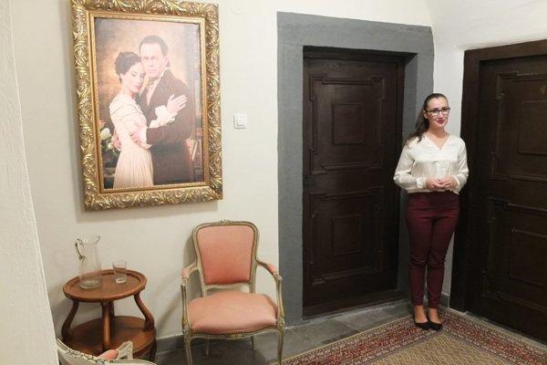 Expozícia venovaná básni Marína ukrýva mnohé lákadlá vrátane hovoriacich obrazov.