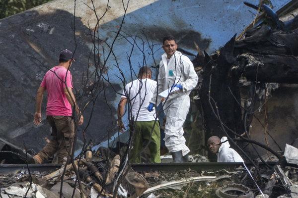 Počet obetí leteckého nešťastia na Kube stúpol.