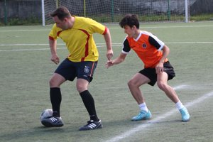 Zo zápasu Remos-Oranjes.