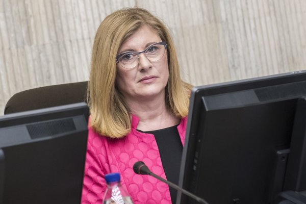 Ministerka pôdohospodárstva a regionálneho rozvoja Gabriela Matečná.