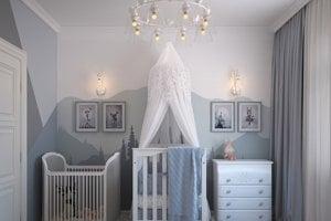 Detská izba by mala byť príjemným prostredím aj pre tých najmenších.