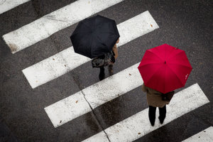 Bez dáždnika ani na krok!
