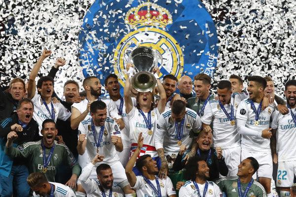Vyhrá Real Madrid Ligu majstrov tretíkrát v sérii?