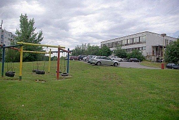 Lokalita pre detské ihrisko.