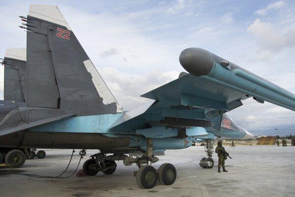 Rusko podporuje Asadov režim.