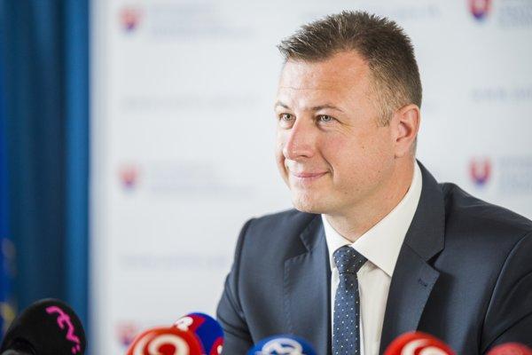 Na snímke minister spravodlivosti SR Gábor Gál.
