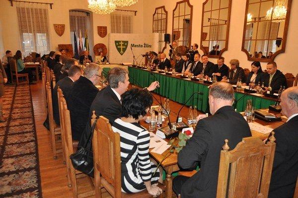 Mestské zastupiteľstvo v Žiline.