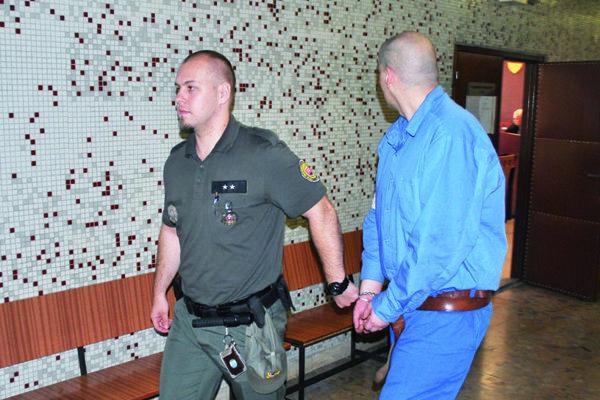 Marián na Krajskom súde v Košiciach.